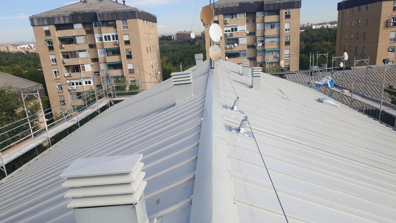 El madrileño barrio de Orcasitas estrena sus dos primeros edificios libres de amianto