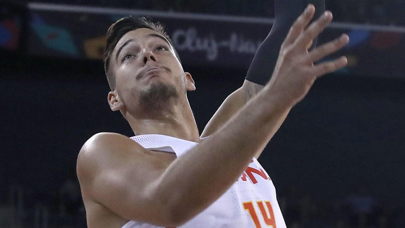 Willy Hernángomez, con la selección española