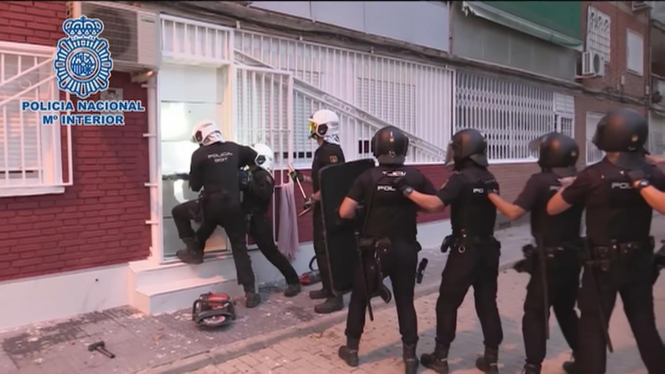 Golpe al narcotráfico en la Cañada Real: Cae el clan de los 'Kikos'