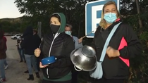 Los vecinos de Perales de Tajuña organizan una cacerolada contra los 'okupas'