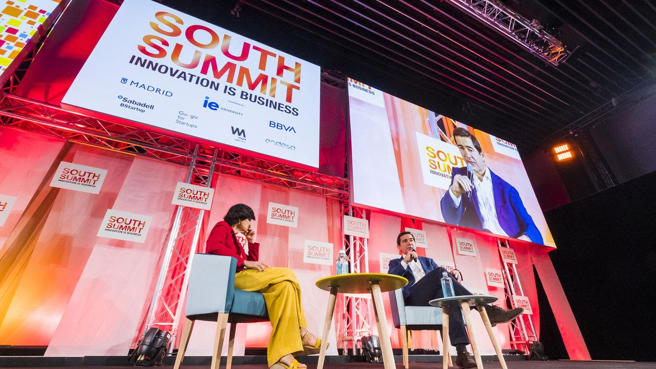 Un paseo por el South Summit con Ángel Niño, concejal de Innovación y Emprendimiento del Ayuntamiento de Madrid