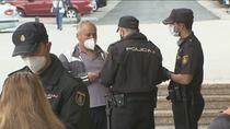Unos 1.200 policías refuerzan los controles en el primer día laborable con restricciones en Madrid