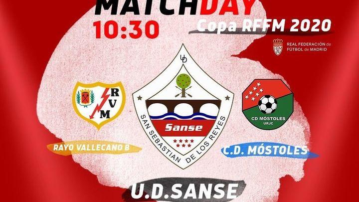 Sanse, Rayo B y CD Móstoles juegan este miércoles la final a tres de la Copa RFFM