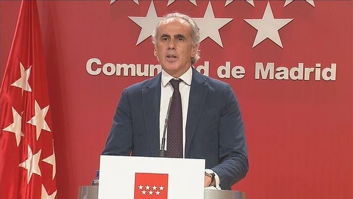 Madrid pedirá a Sanidad que reconsidere el confinamiento perimetral