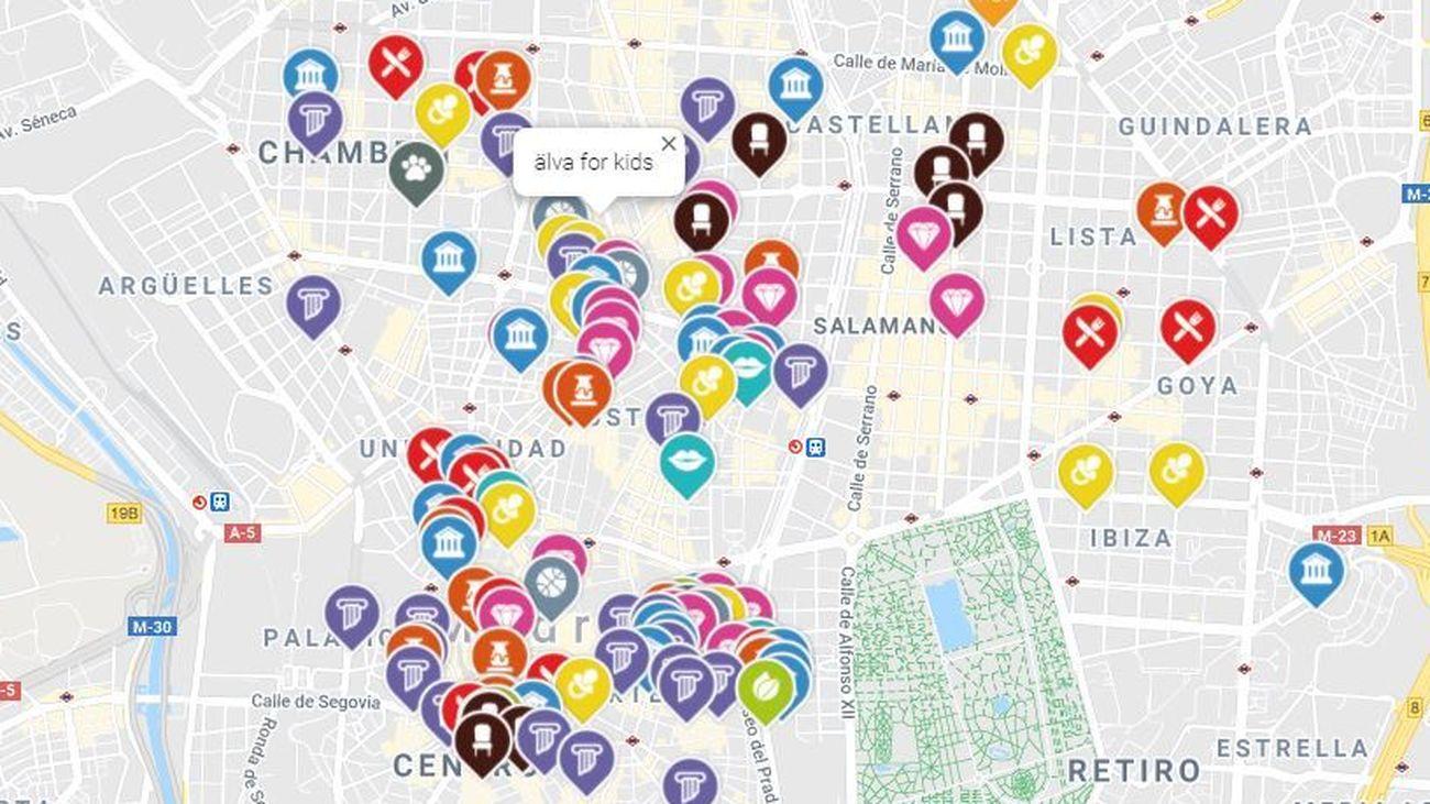 Imagen del mapa de Más que un local