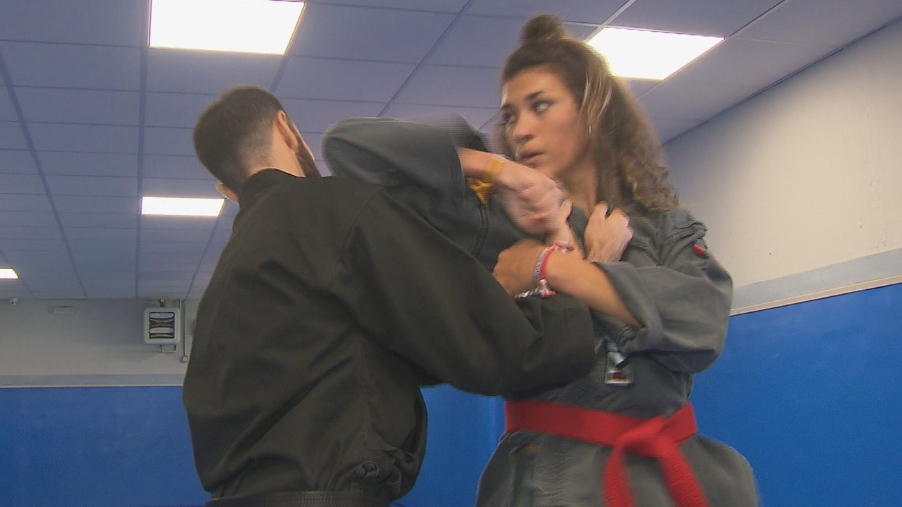Natalia de Agustín, el kenpo karate contra el acoso escolar
