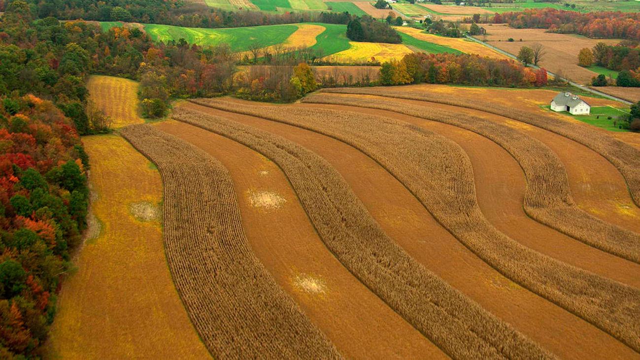 Escena del documental 'América desde el aire: Pensilvania'