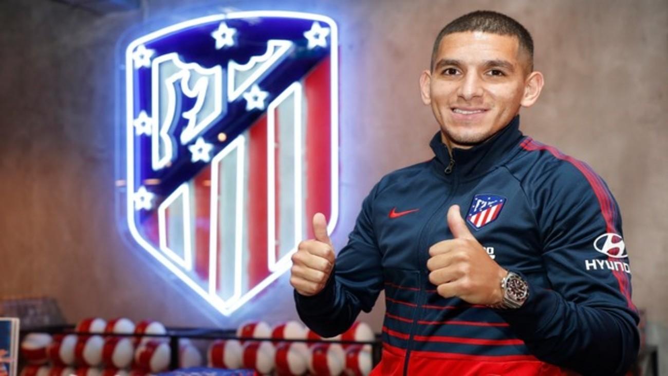 """Torreira: """"Feliz, orgulloso, un privilegio estar en el Atlético"""""""