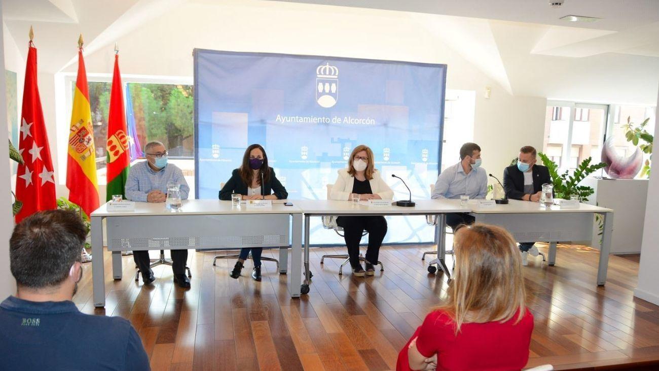 La mesa de rescate de Alcorcón ayudará a los negocios afectados por la crisis del COVID-19