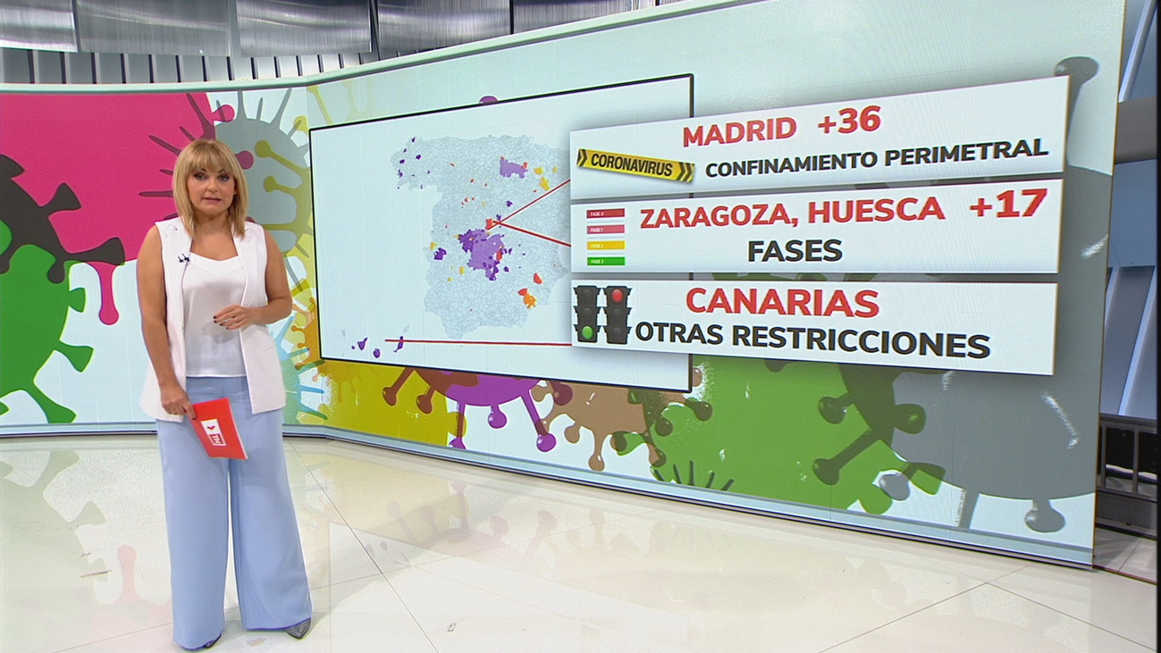 Guía de los tipos de 'confinamiento' que hay ahora mismo en España
