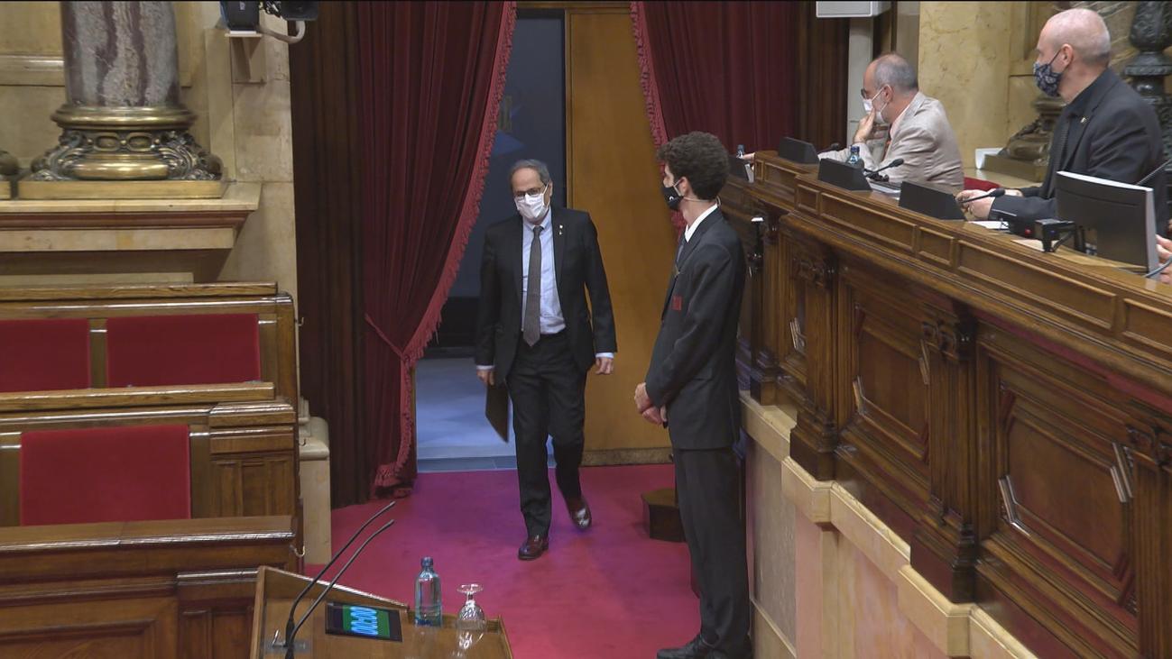 El Constitucional rechaza por unanimidad suspender la inhabilitación de Torra