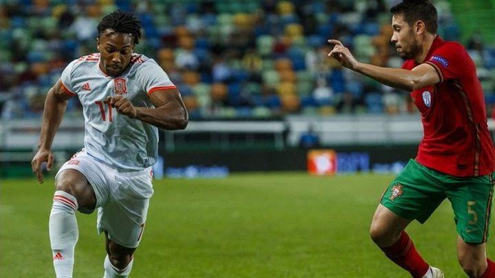 0-0. España empata  con Portugal en un buen debut de Adama