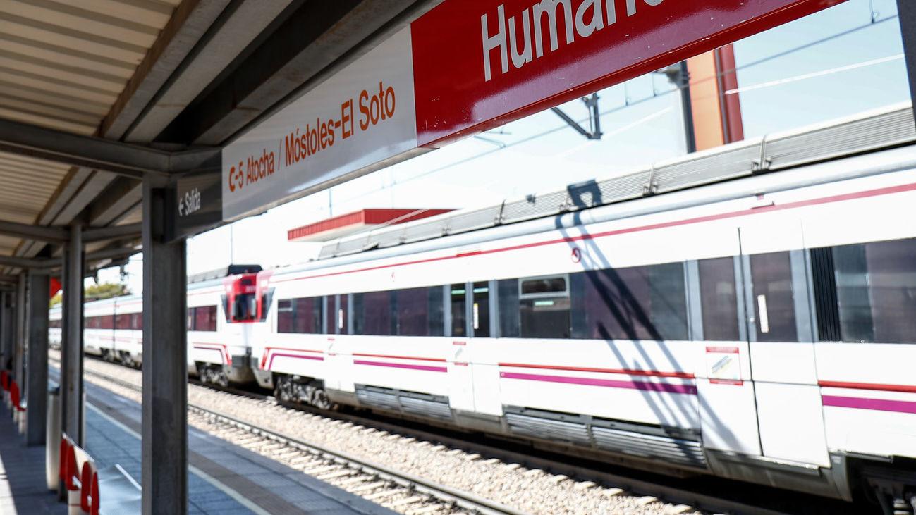 Línea C5 de Cercanías entre Móstoles y El Soto