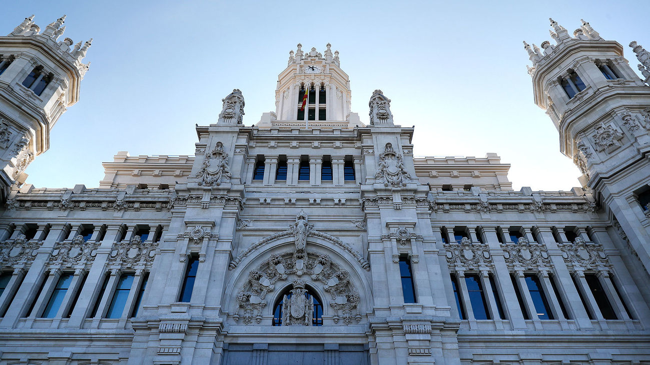 El Palacio de Comunicaciones, sede del Ayuntamiento de Madrid
