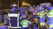 Un menor de 16 años pierde ambas piernas al ser arrollado en un accidente de tráfico en Fuenlabrada