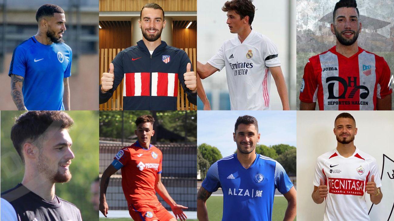 Los ocho equipos madrileños de Segunda B