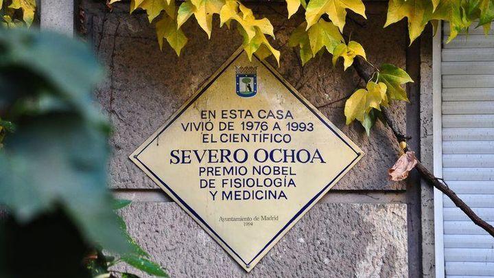 El Madrid de los premios Nobel españoles