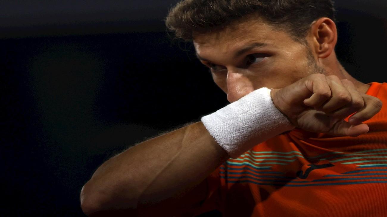 """Carreño atiza a Djokovic: """"Cada vez  que está en aprietos llama a las asistencias"""""""