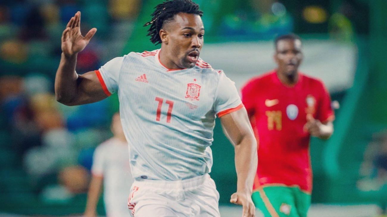 Adama Traoré ante Portugal