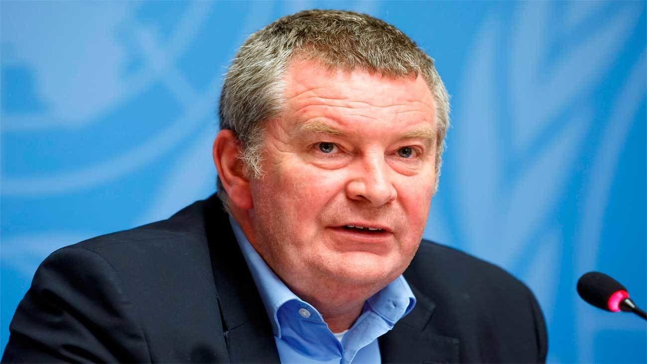 Mike Ryan, director Ejecutivo del Programa de Emergencias Sanitarias de la OMS