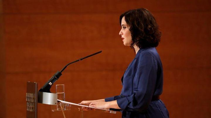 Así fue la llamada entre Ayuso y Sánchez antes de que se decretara el estado de alarma en Madrid