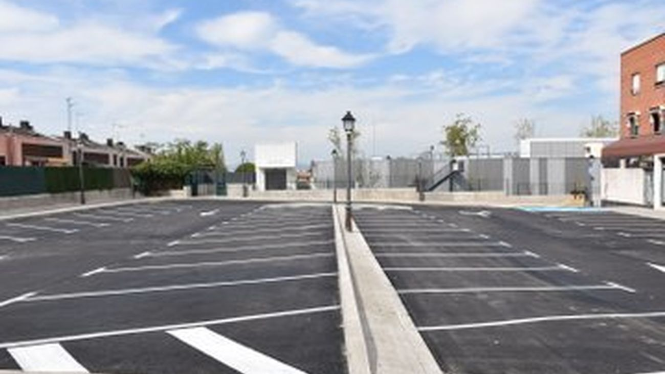 Nuevo aparcamiento municipal en Villaviciosa