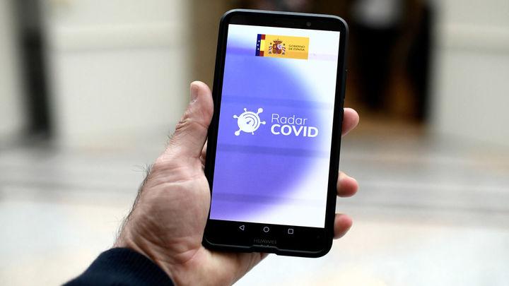 Menos del 10% de los positivos en Madrid tiene la aplicación Radar Covid en su móvil