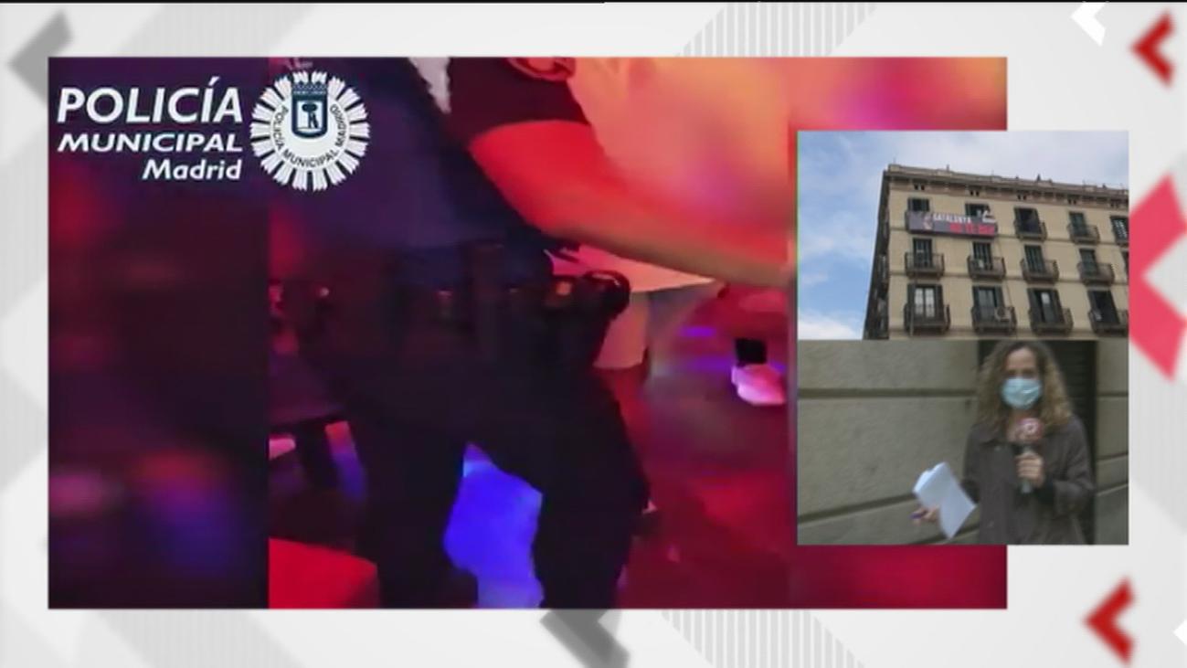 La Policía Municipal descubre un prostíbulo en un bar del centro y la Nacional drogas en uno del distrito de Salamanca