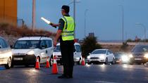 Controles en las salidas de las carreteras de madrileñas
