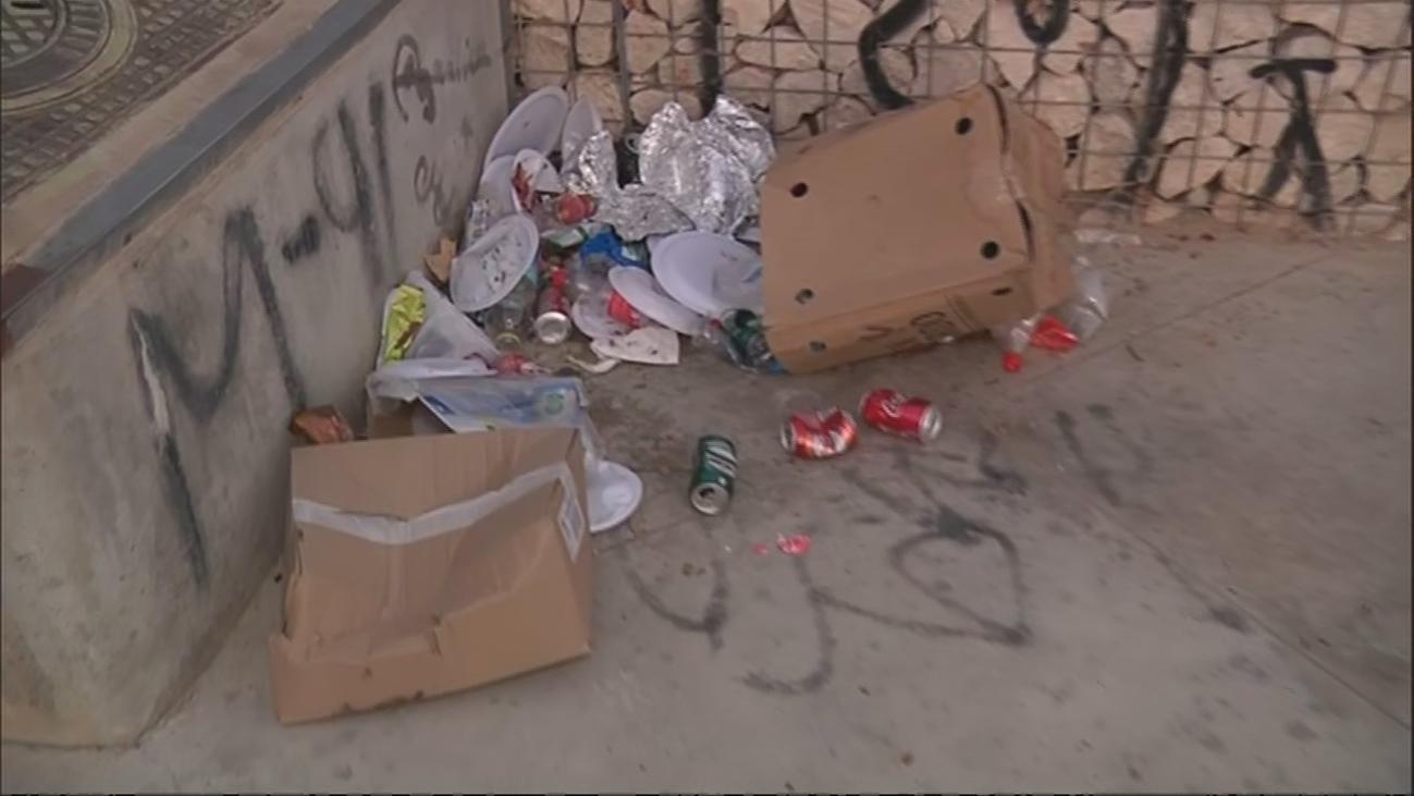 Los vecinos de Fuencarral - El Pardo denuncian el estado de abandono del skatepark