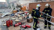 Una garrafa de acetona causa la explosión que destroza un chalet en San  Martín de la Vega