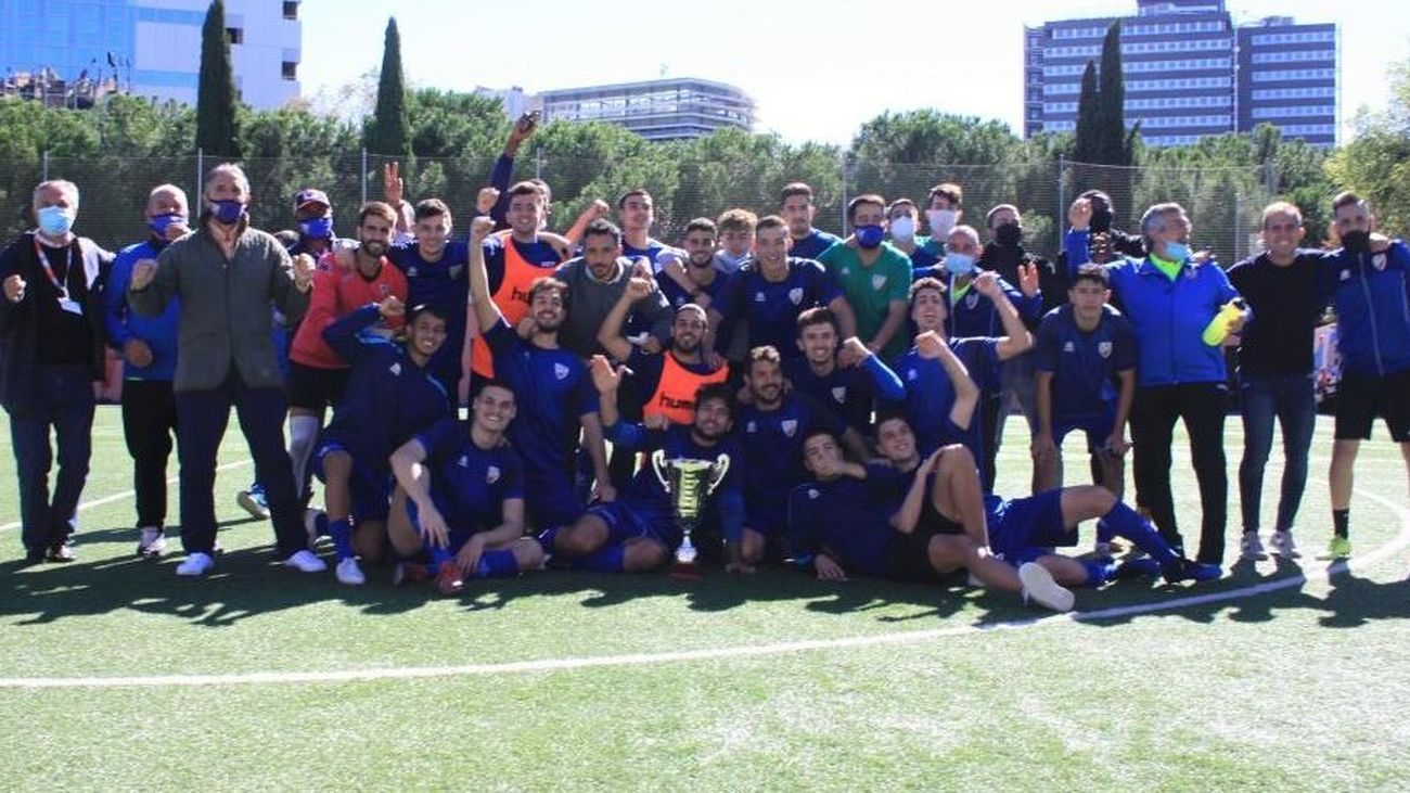 El Móstoles FC, campeón de la Copa de Preferente