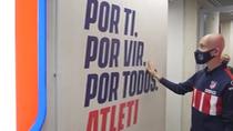 La sorpresa que las jugadoras del Atlético de Madrid han dado a Virginia Torrecilla
