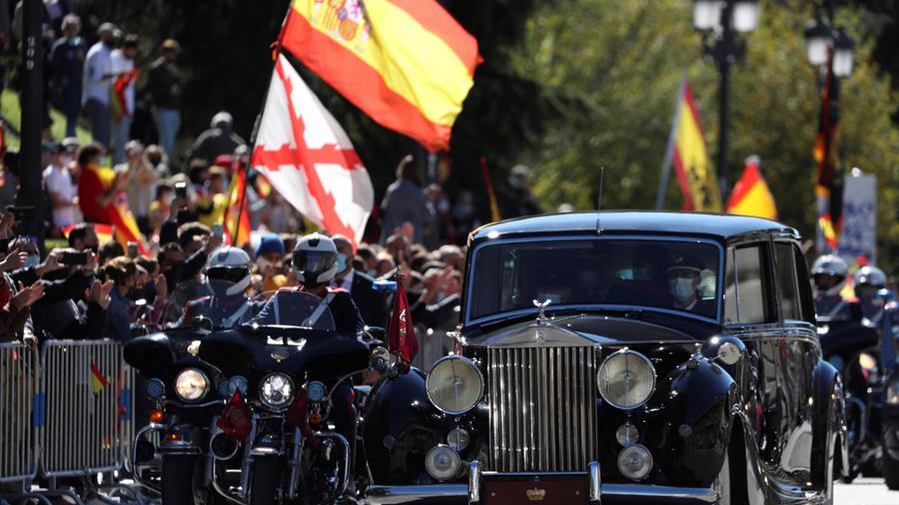 Los madrileños, entre la resignación y la reivindicación en este 12 de octubre