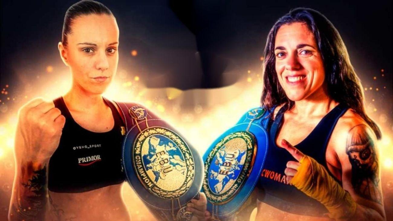 Moralzarzal acoge el campeonato de Europa de boxeo femenino