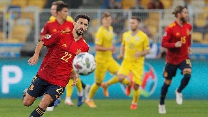 1-0. España, sin gol y con derrota ante Ucrania
