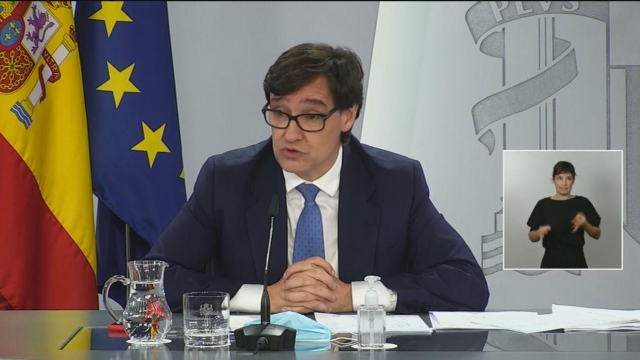 """Illa avisa de que""""con la salud pública no se negocia"""" y acusa a Madrid de reducir las PCR"""