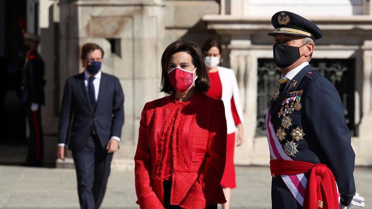 Margarita Robles, en el Día de la Fiesta Nacional