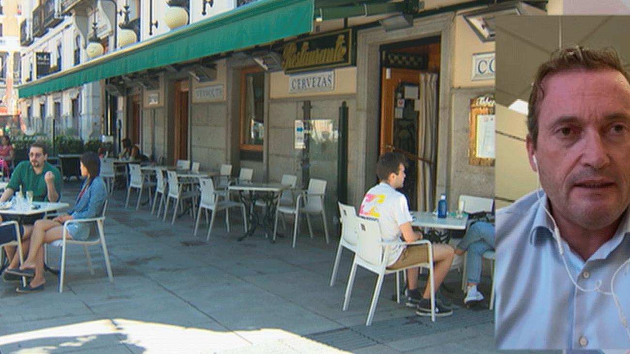 """El sector de hostelería agradece a los madrileños """"su apoyo"""" durante el puente"""