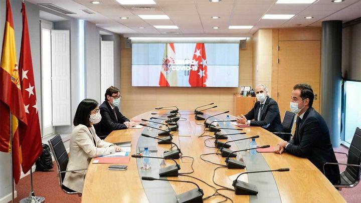 """Madrid quiere ir a la reunión del Grupo Covid """"con los datos actualizados"""""""