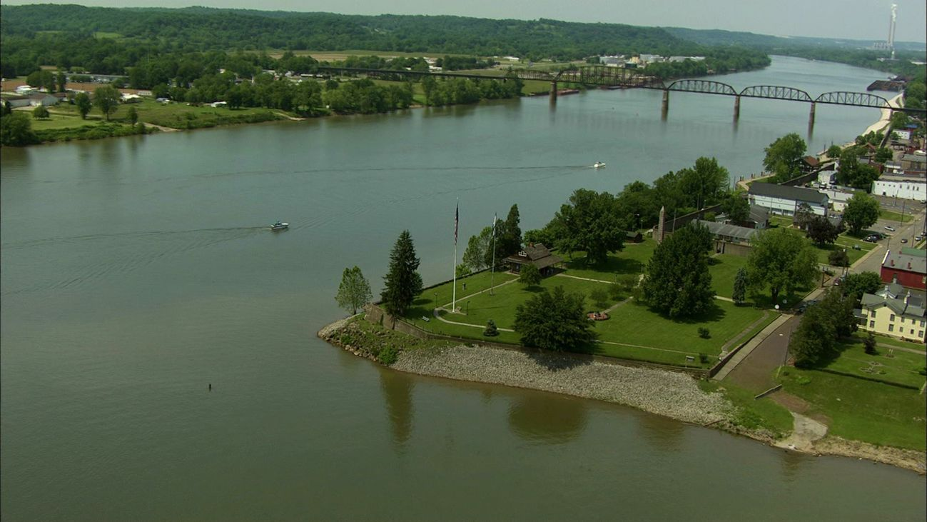 Escena del documental 'América desde el aire: Virginia occidental'