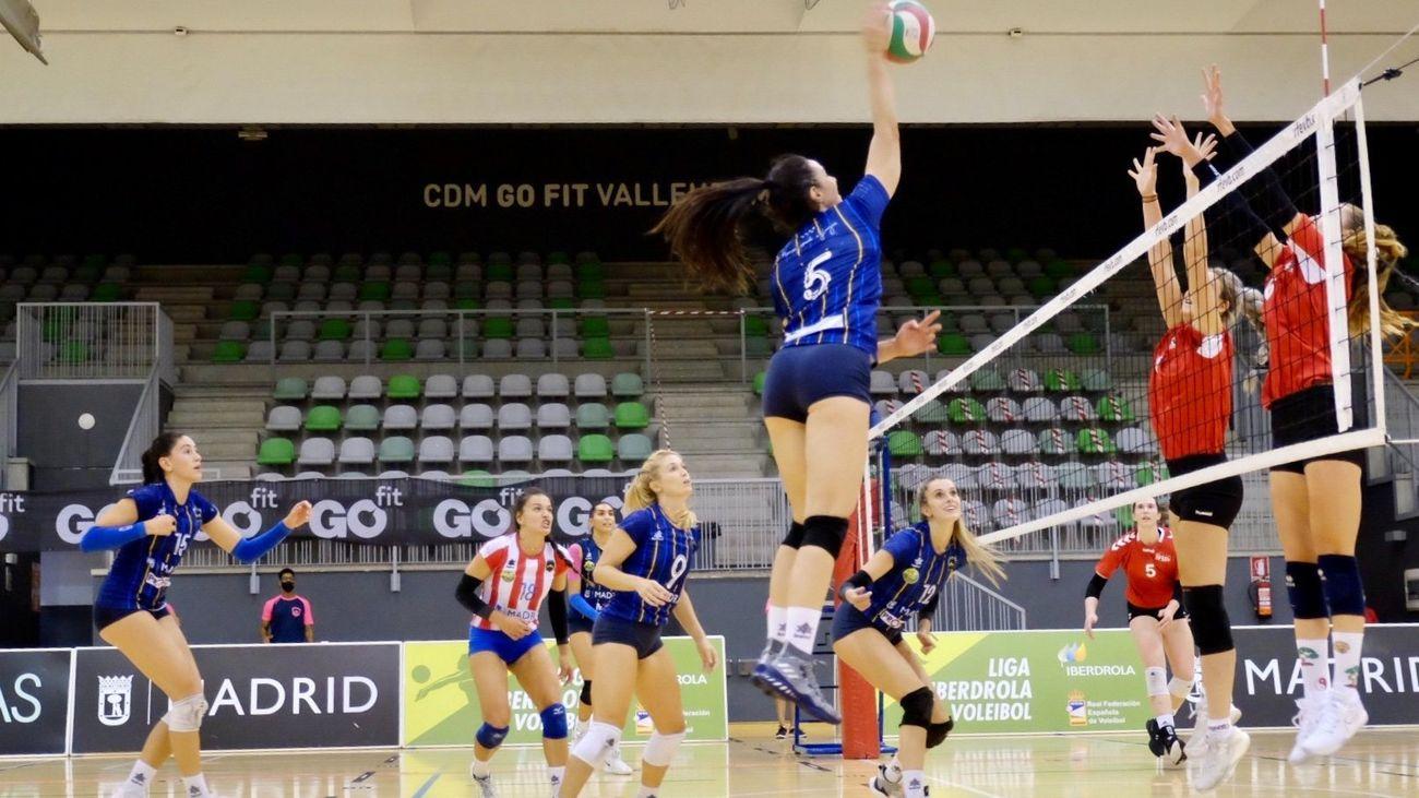 Feel Volley Alcobendas se lleva el derbi ante el Voleibol Madrid