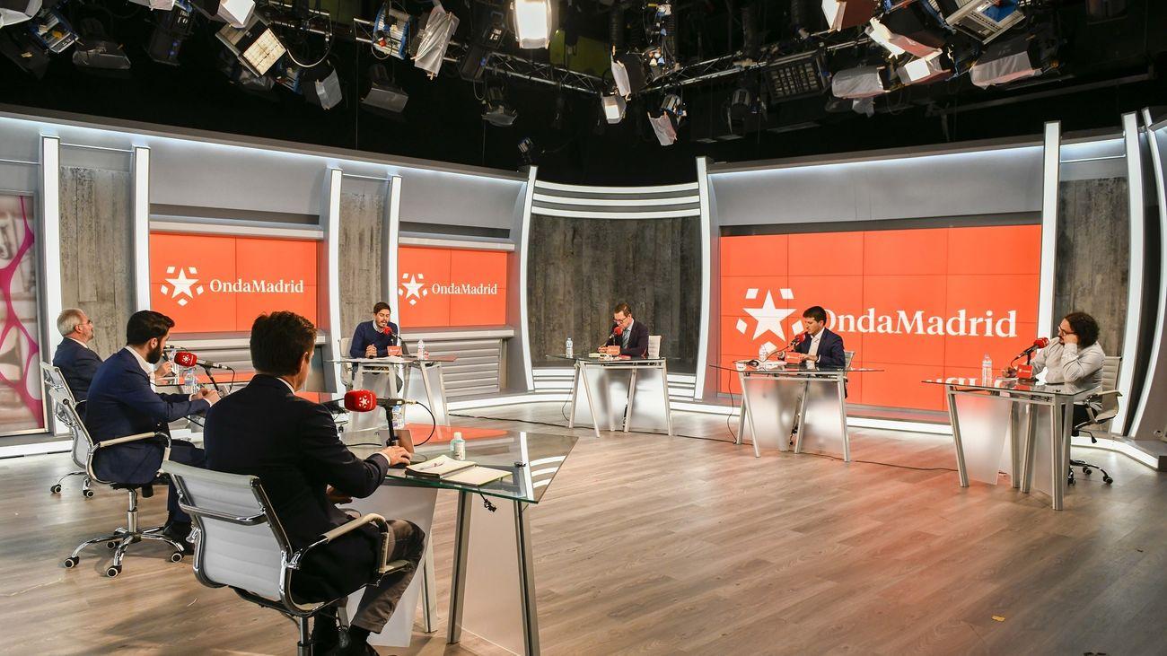 Los seis portavoces parlamentarios de la Asamblea, en 'Madrid, a debate'