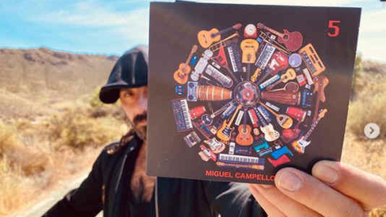 Miguel Campello muestra su disco '5'