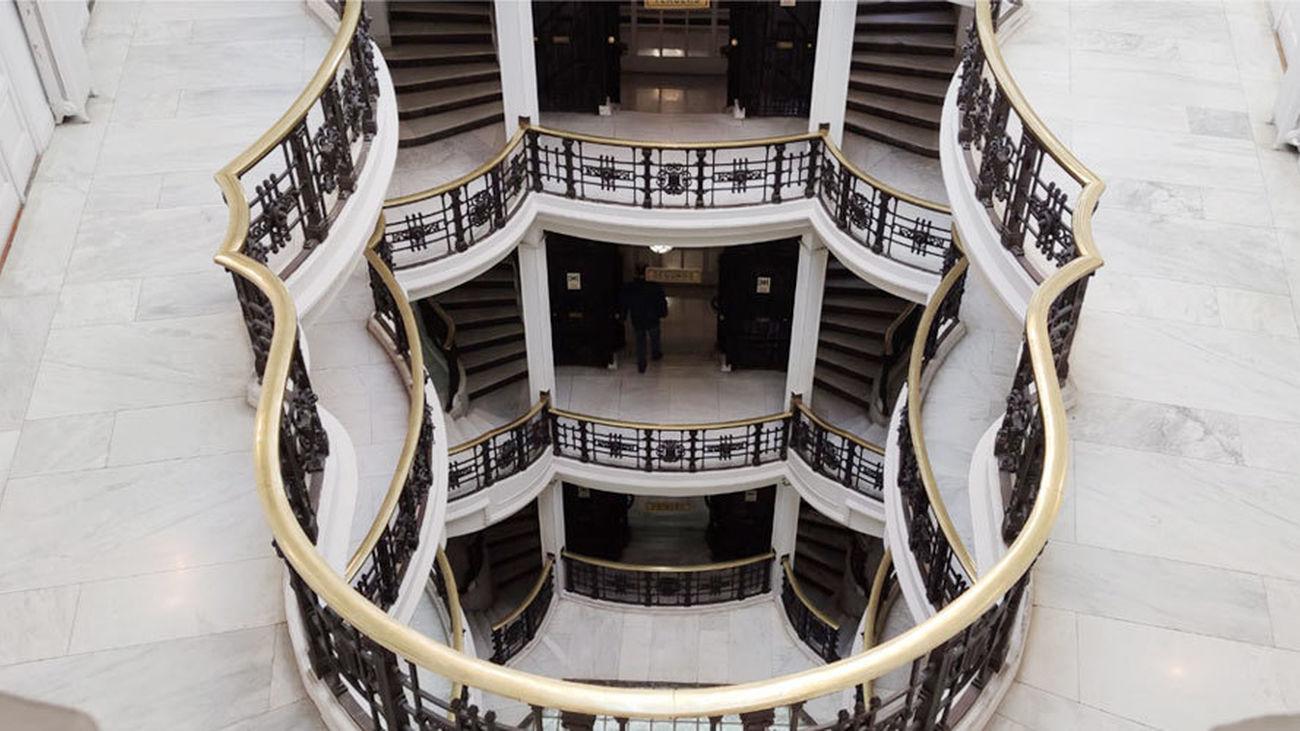 Escaleras de la Casa Palazuelo de la calle Mayor