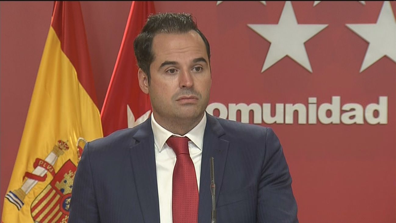 El vicepresidente Ignacio Aguado