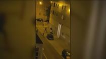 Gran violencia en una pelea callejera en el barrio de Las Rosas, en San Blas