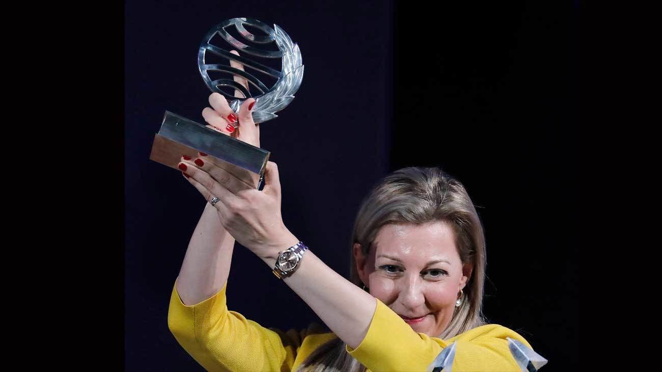 Eva García Sáenz de Urturi gana con 'Aquitania' el 69º Premio Planeta
