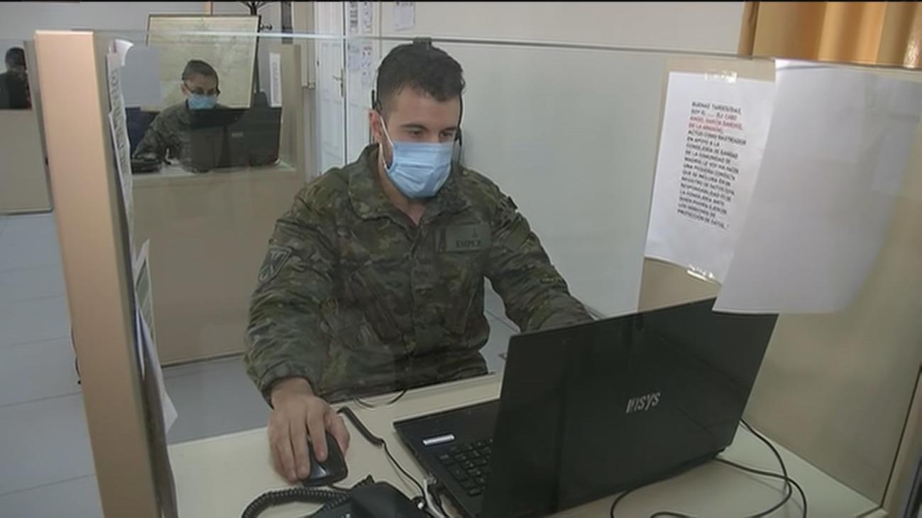 Visitamos uno de los turnos de los rastreadores del ejército que trabajan en Madrid