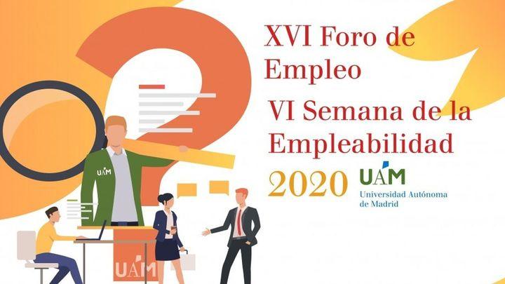 Oportunidades de empleo y formación en la Semana de la Empleabilidad de la UAM